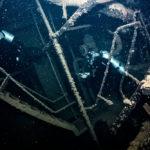沈船の内部を探る011